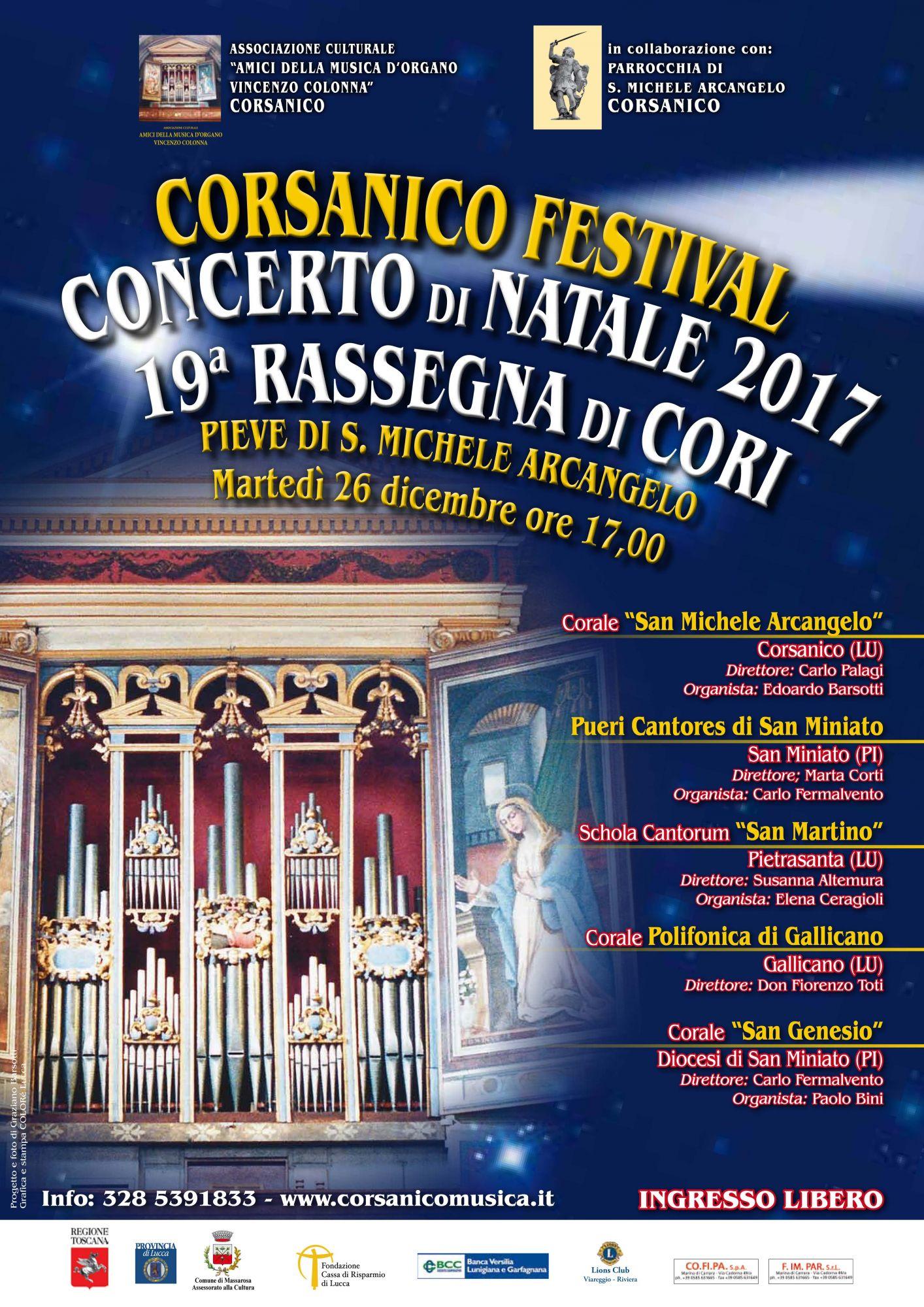 Concerto di Natale a Corsanico