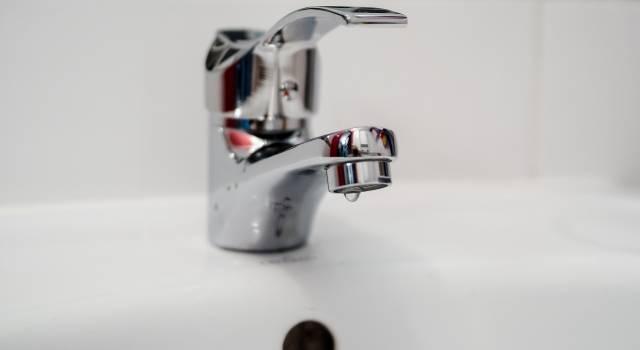 Camaiore, stop all'acqua potabile lunedi 10 dicembre