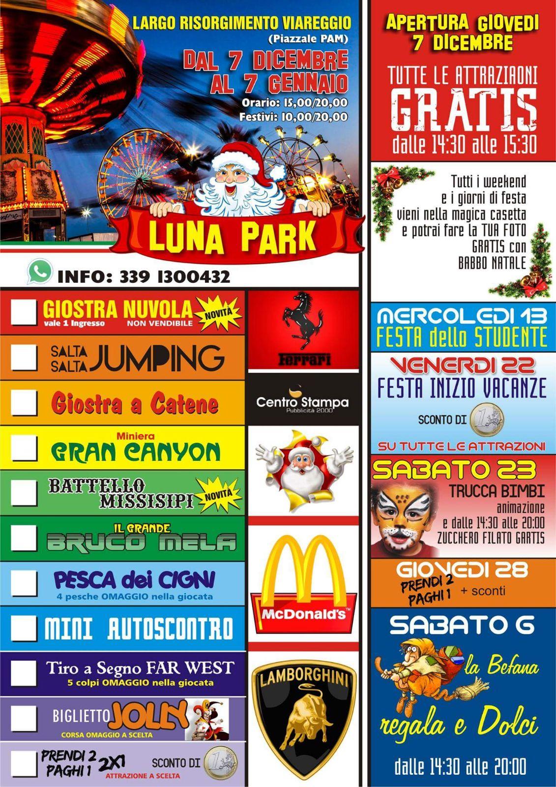 Apre il Luna Park a Largo Risorgimento