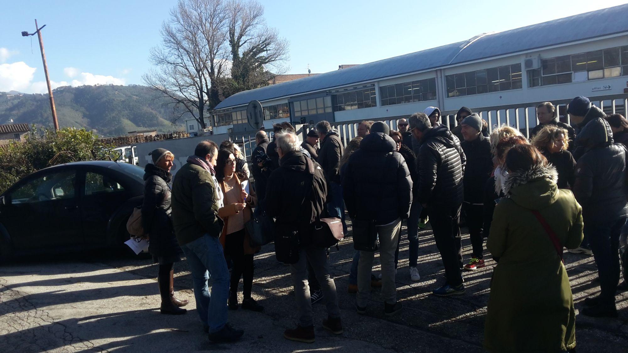 Ponsi, 17 lavoratori rischiano il posto: è sciopero