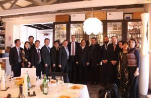 delegazione cinese al distretto nautico