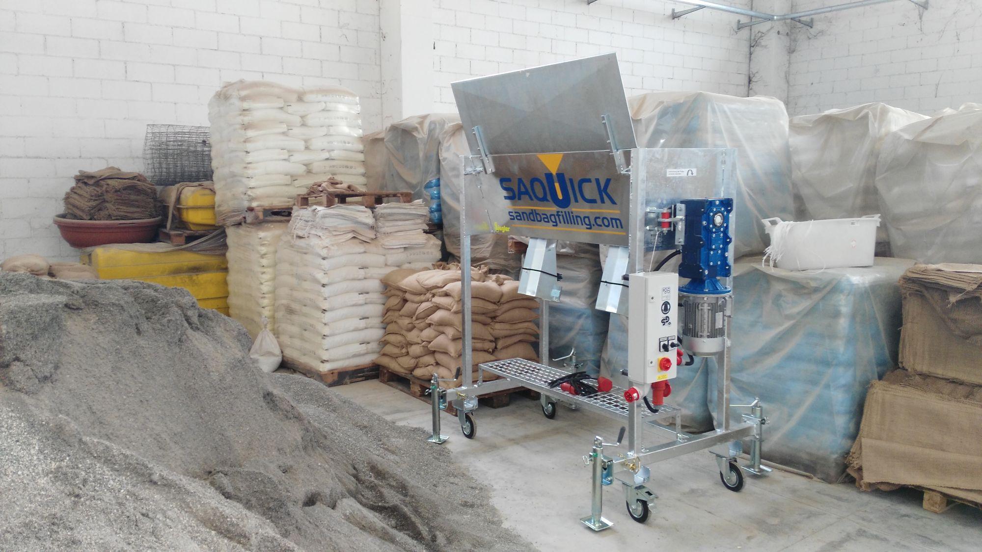Sottoscritto l'accordo per la gestione dei siti di produzione dei sacchi di sabbia antiallagamento