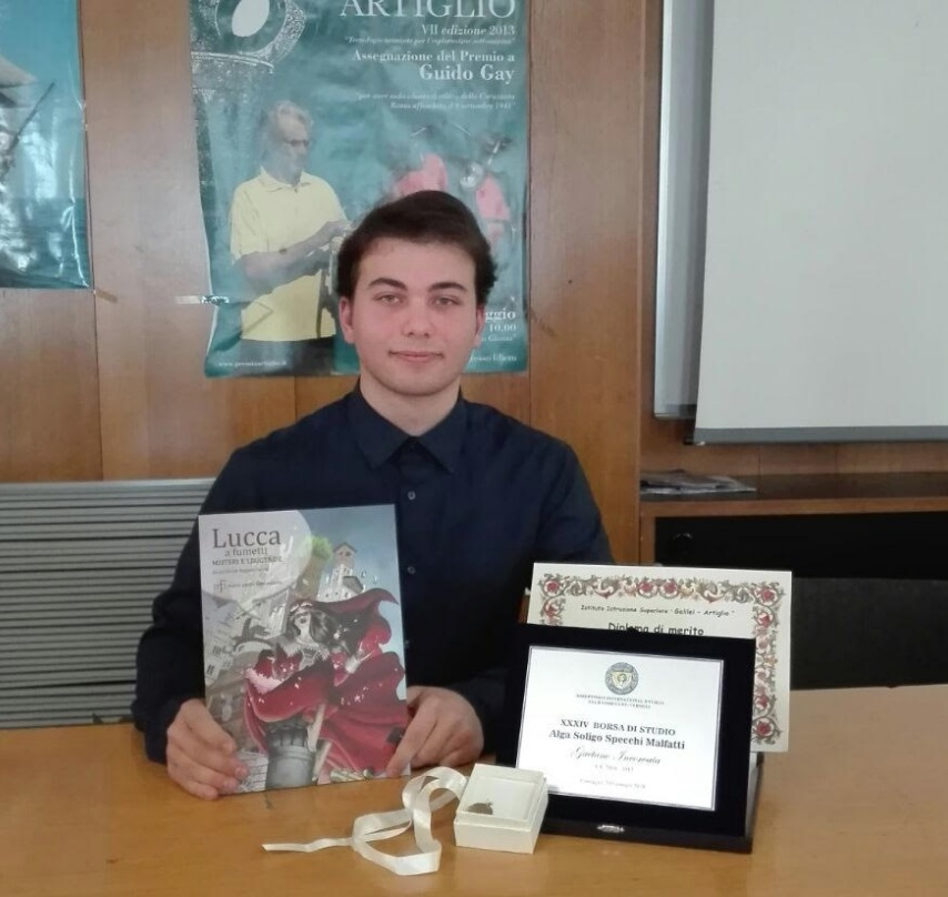 Gaetano Incorvaia il miglior diplomato del Nautico Artiglio