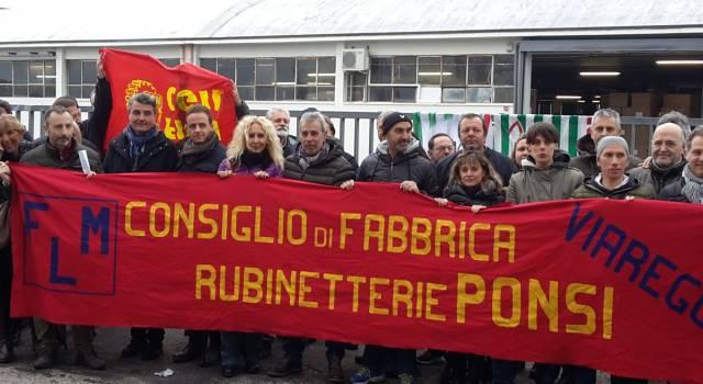 "Braccini (Fiom): ""Rubinetterie Ponsi, una chiusura annunciata"""