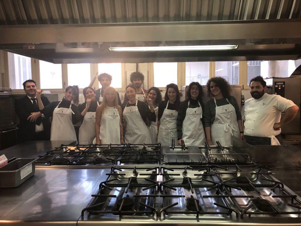 Cooking team-building pluristellato per il kick-off meeting al Grand Hotel Principe di Piemonte
