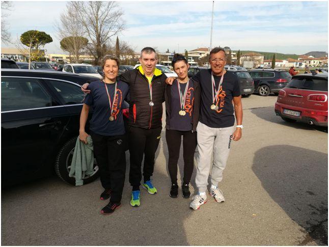 Ottimi risultati per la squadra master di Aquatica Massarosa