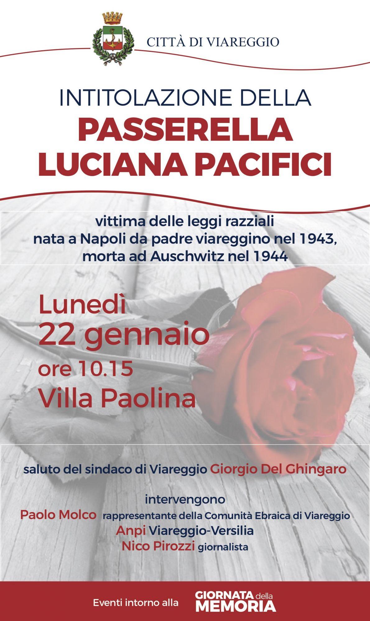 Giornata della memoria, tutte le celebrazioni a Viareggio