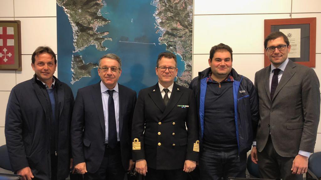 Delegazione di Confartigianato dal nuovo Comandante della Capitaneria di Porto