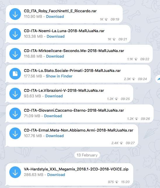 quotidiani gratis telegram