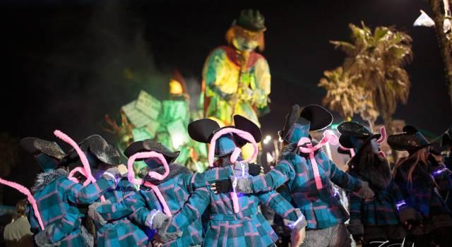Carnevale, le schede dei giurati dei carri di prima categoria