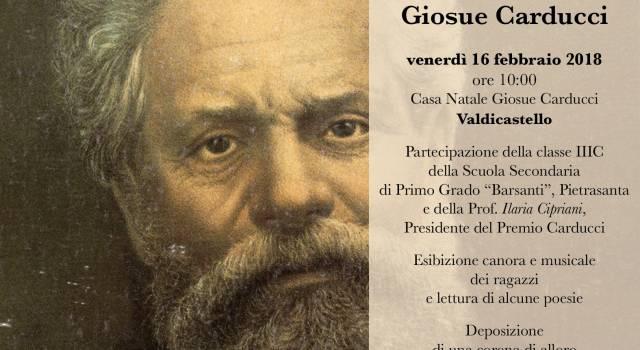111° Anniversario dalla morte di Giosue Carducci, commemorazione a Valdicastello