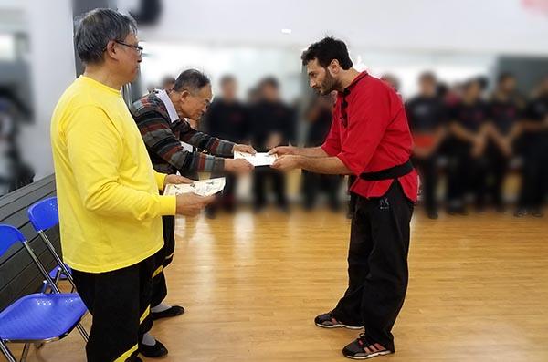 Un maestro pietrasantino conquista il titolo di V dan nel Wing Chun Kung Fu