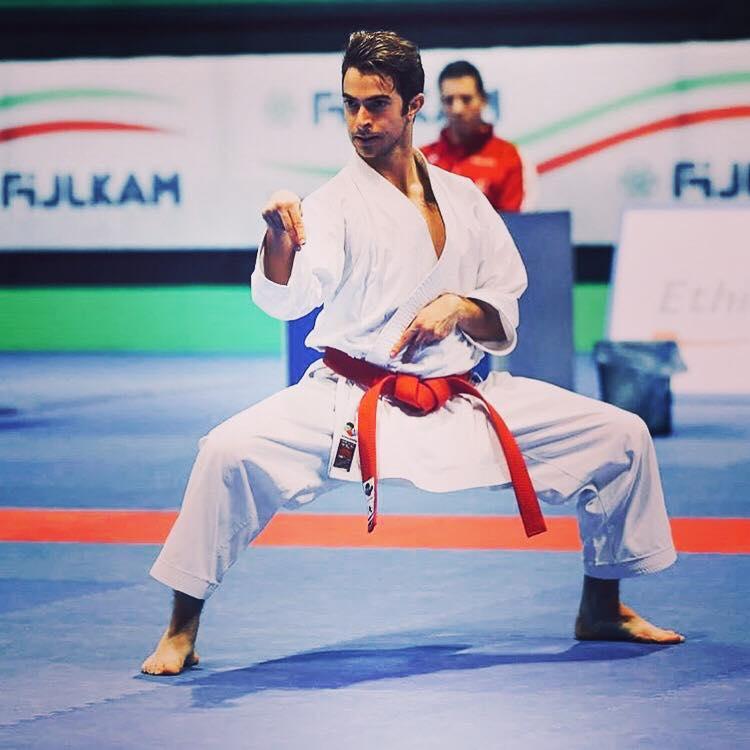 Gabriele Petroni medaglia d'argento ai campionati italiani di kata