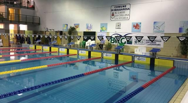VI trofeo Massarosa nuoto per gli esordienti nella Piscina Comunale G. Frati