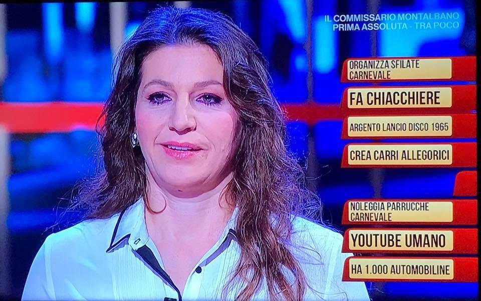 """La carrista Priscilla Borri protagonista su Rai Uno a """"I Soliti Ignoti"""""""