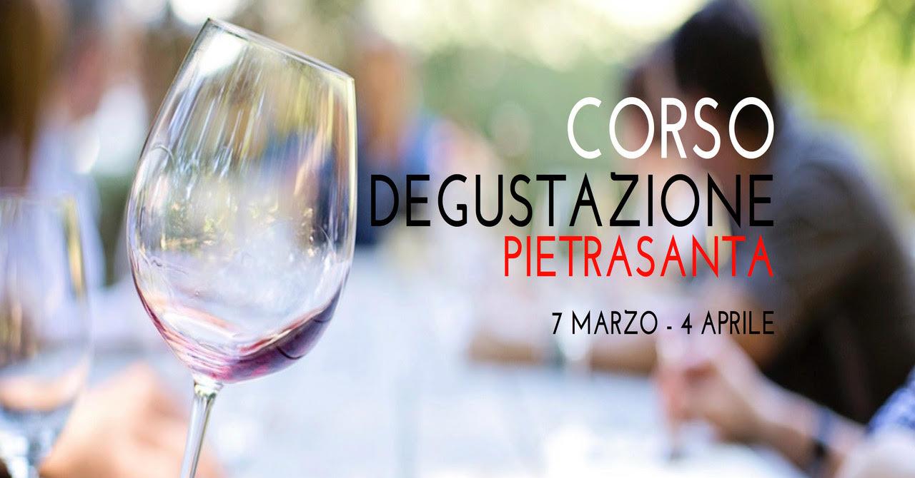 Corso di degustazione di vino con Morris Lazzoni a Pietrasanta
