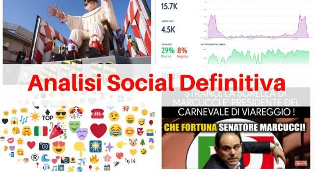 Carnevale, l'analisi definitiva dei Social: Viareggio non ha rivali (ma gioie e dolori)