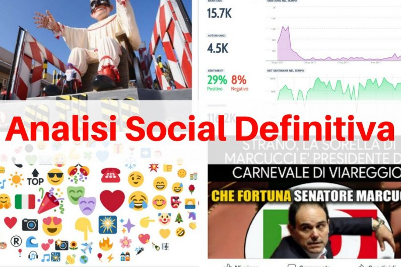 carnevale viareggio analisi social cover