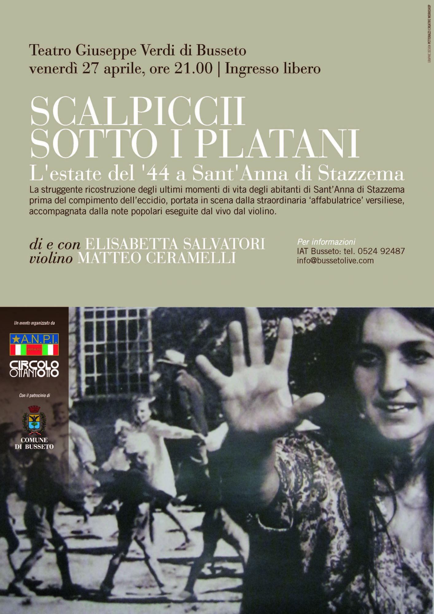 Elisabetta Salvatori in trasferta a Parma e ad Ancona e nel salotto di Forte dei Marmi