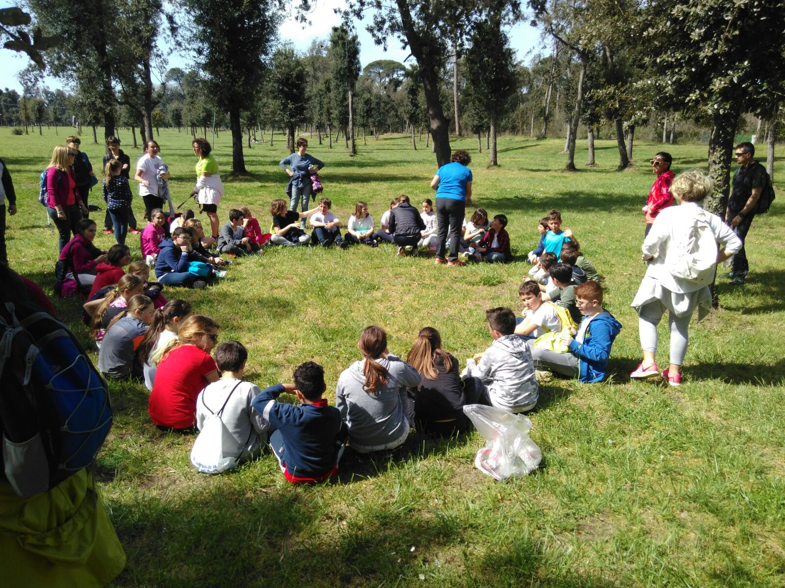 Uscita nel parco della Versiliana per i ragazzi del progetto Move Up