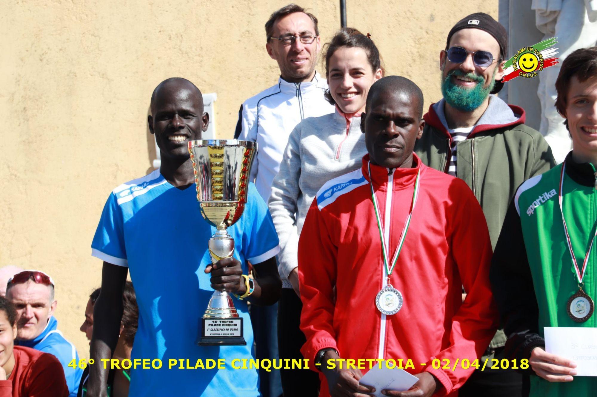 Jonathan Kanda vince il trofeo Cinquini di Pietrasanta