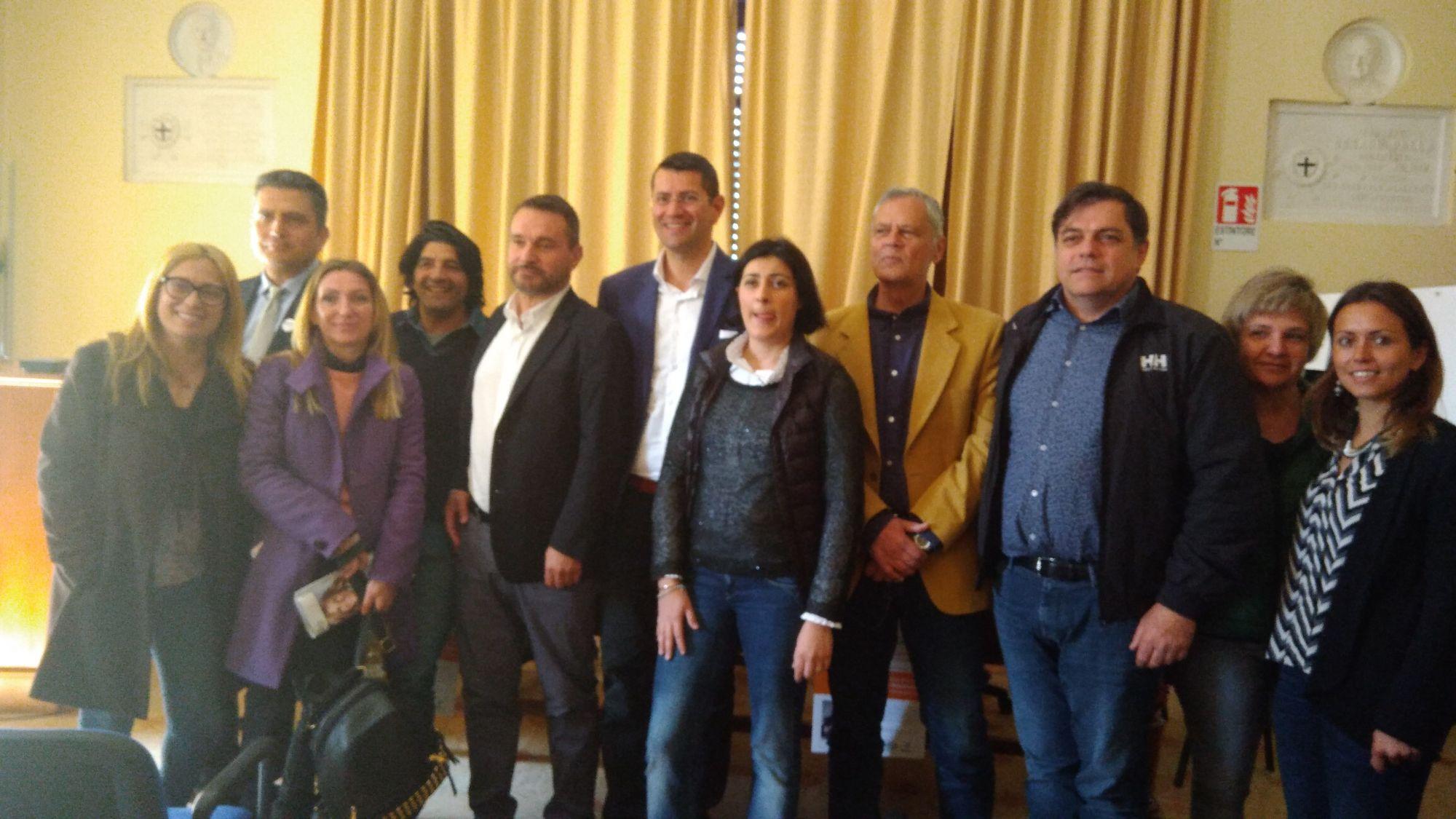 PCA, confronto dei candidati sindaci alla Croce Verde
