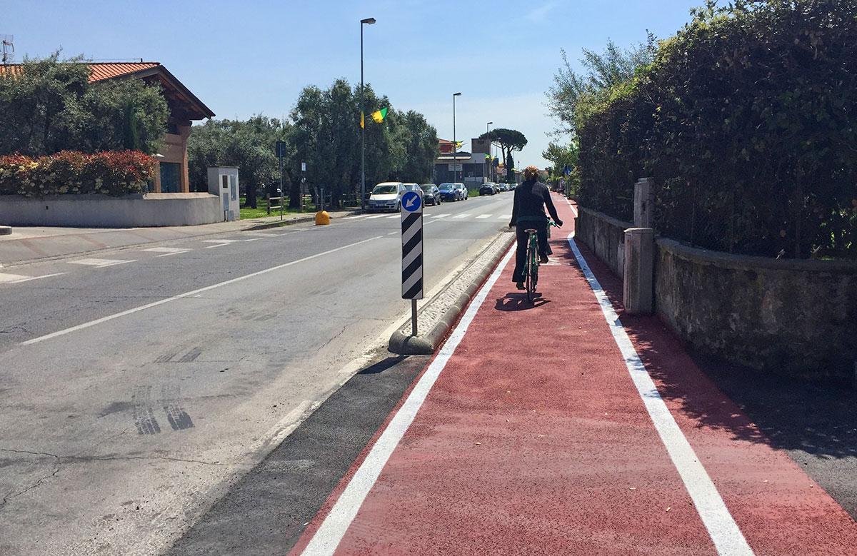 Lavori Pubblici: chiuso il cantiere della ciclopedonale e della nuova fognatura di via delle Contrade