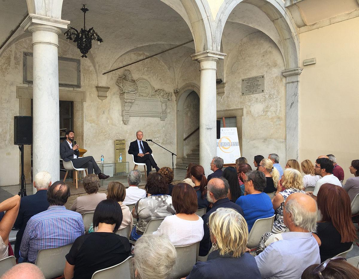 Marco Cappato, Serena Dandini e Guido Catalano a Memofest