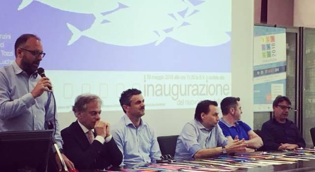 Taglio del nastro al Liceo Artistico audiovisivo e multimediale Carlo Piaggia