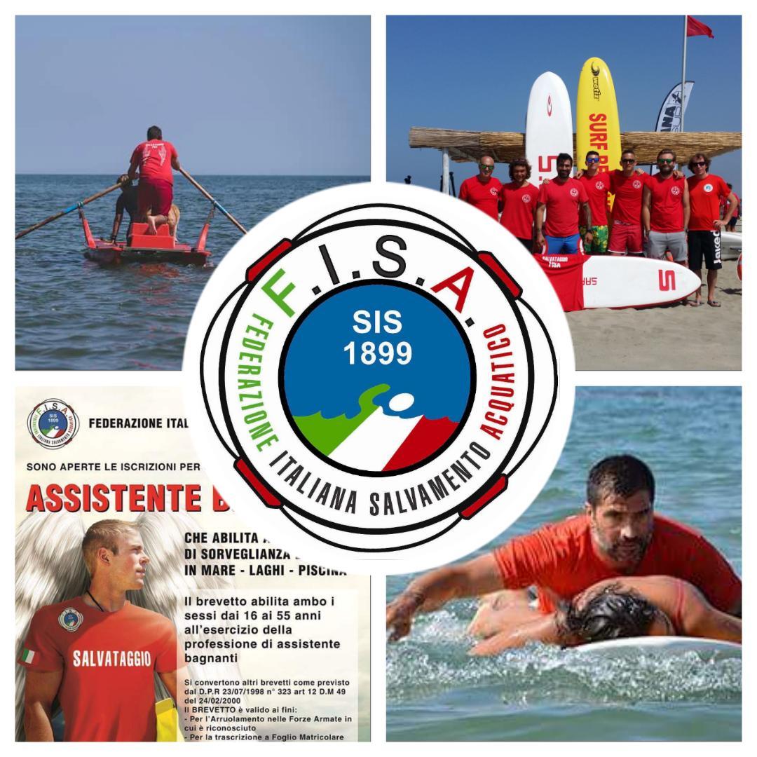 Al via il corso assistente bagnante FISA