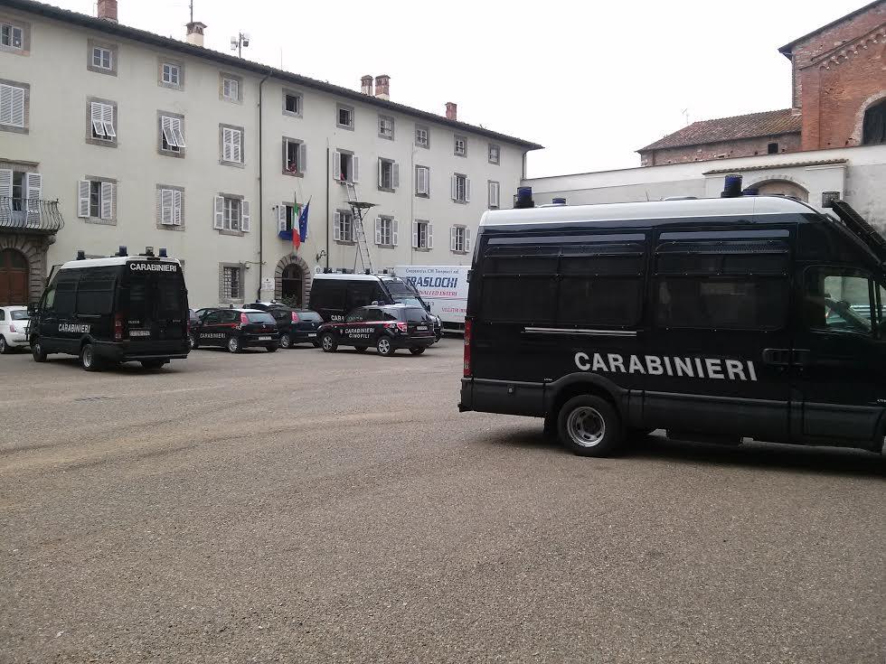 2 giugno in Cortile degli Svizzeri alla presenza del neo prefetto di Lucca