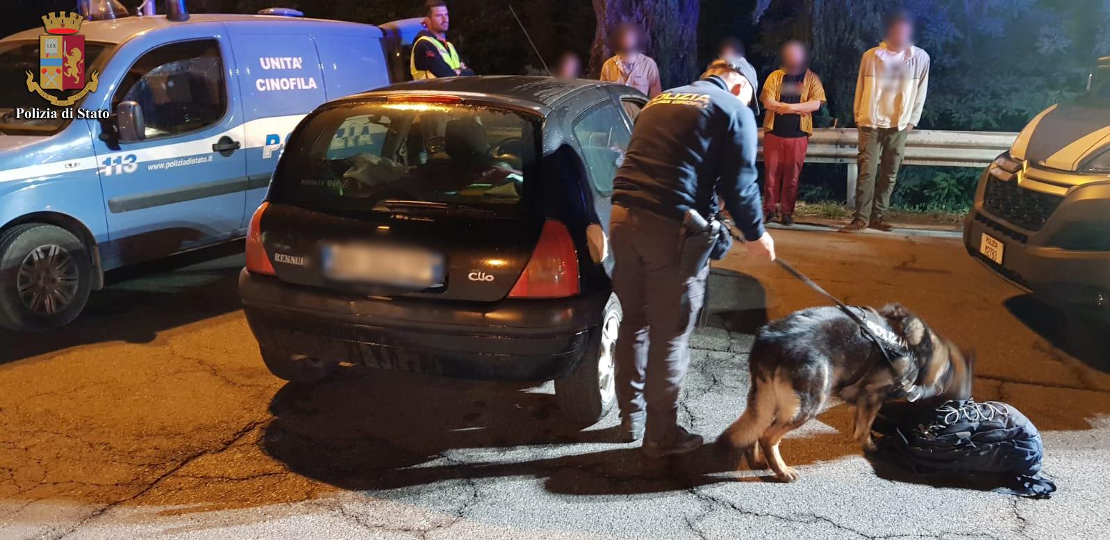 Polizia contro alcool e droga in autostrada, ritirate 21 patenti e tolti oltre 500 punti