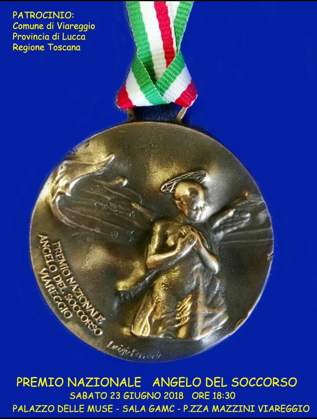 Strage ferroviaria, a Viareggio il Premio Nazionale Angelo del Soccorso: un ricordo per Milziade Caprili