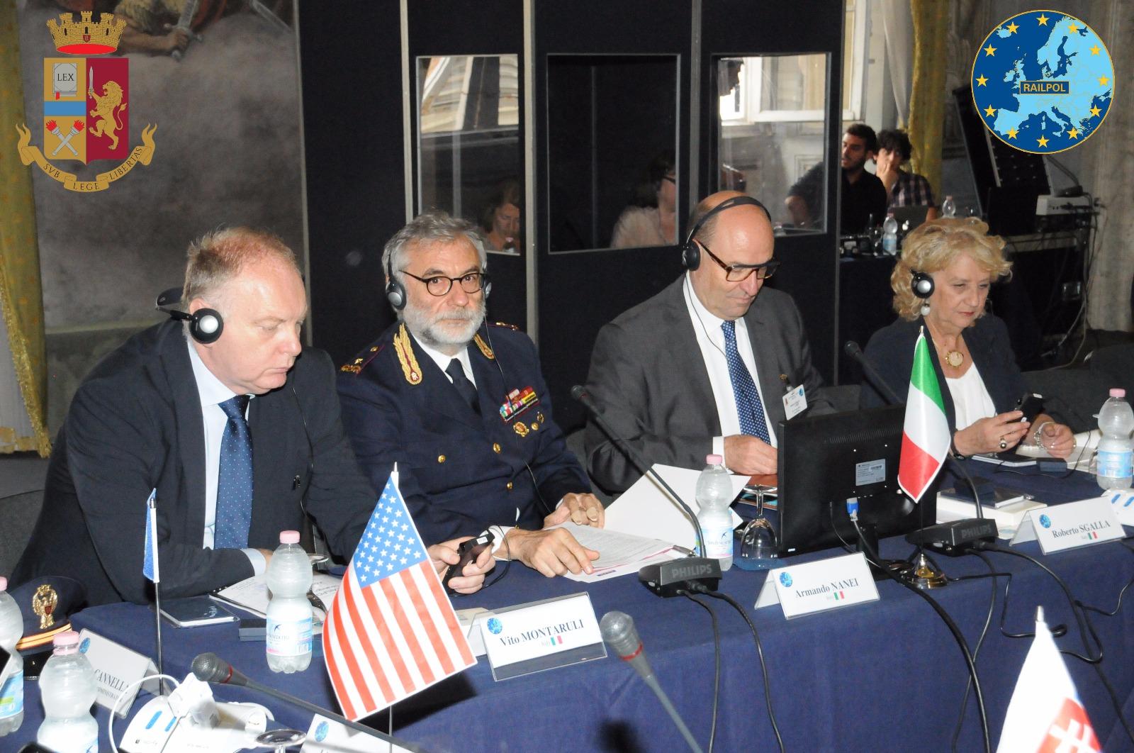 Sicurezza ferroviaria, i vertici delle polizie ferroviarie si incontrano a Lucca