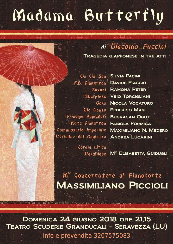 Madama Butterfly di Giacomo Puccini alle Scuderie Granducali