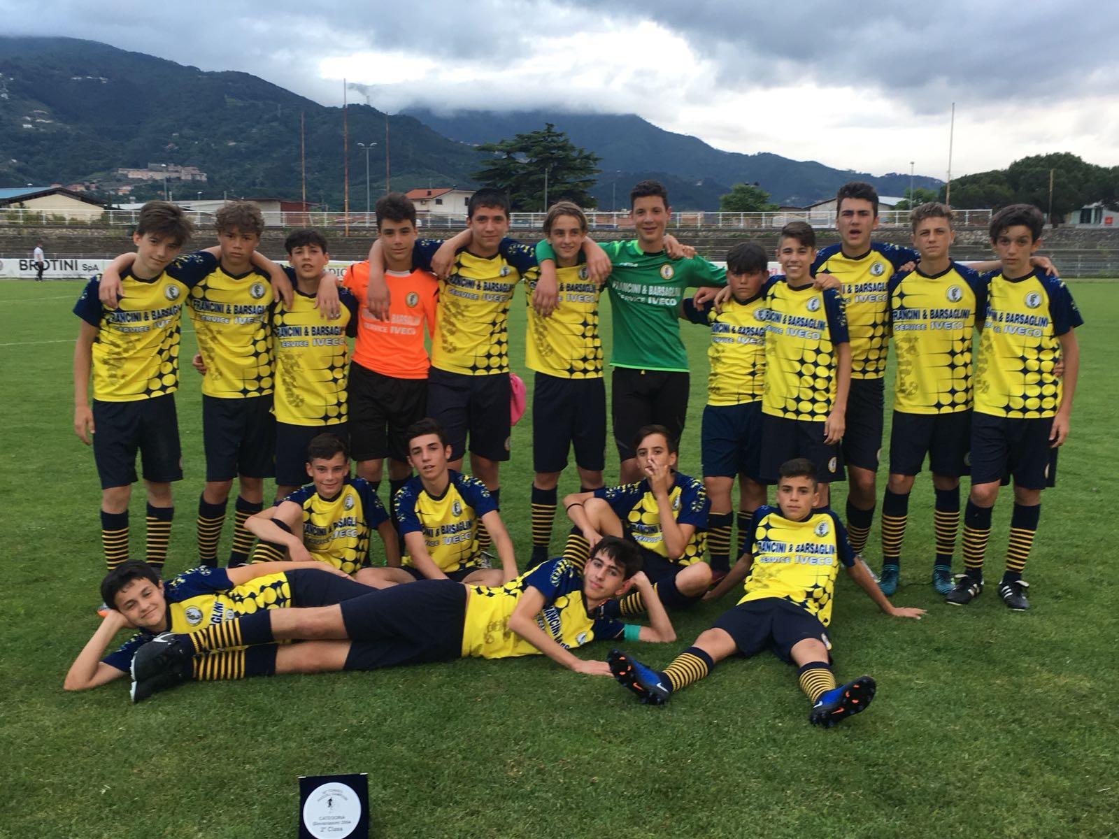 I giovanissimi B dell'AC Lido al 35° torneo Piccoli Campioni di Romagnano