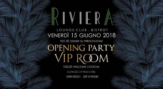 Riviera di Forte dei Marmi, tutto pronto per inaugurazione Vip Room