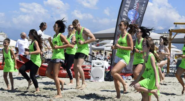 Al via col fitness in spiaggia la Fashion Week