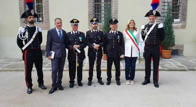 Il Comune di Forte dei Marmi a Lucca per il 204esimo anniversario dell'Arma dei Carabinieri