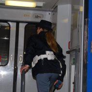 Ladro di bagagli sul treno arrestato dalla Polfer