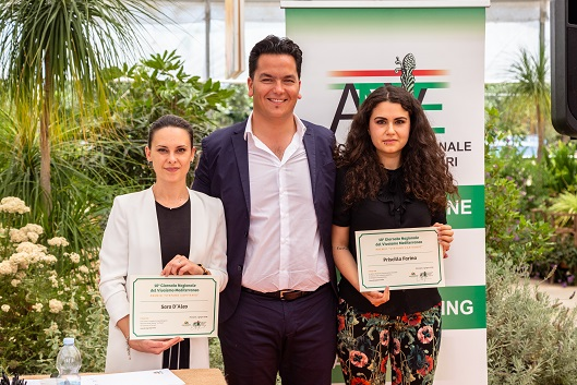 Due laureate Unipi in Agraria premiate dall'Associazione Nazionale Vivaisti esportatori