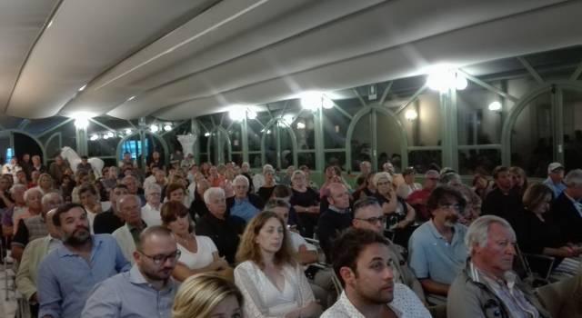 Un anno dell'amministrazione Murzi, successo a Villa Bertelli