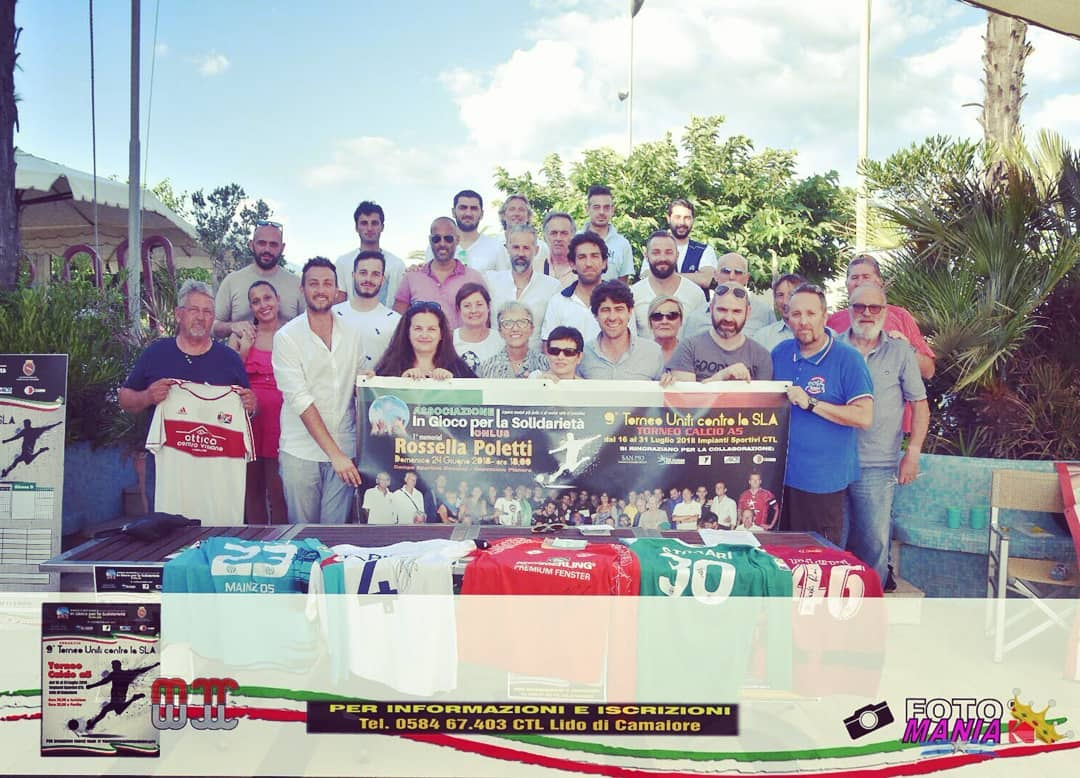 Uniti contro la Sla, al via il torneo di calcio