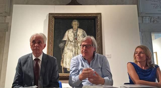 Lectio magistralis di Vittorio Sgarbi a Palazzo Mediceo