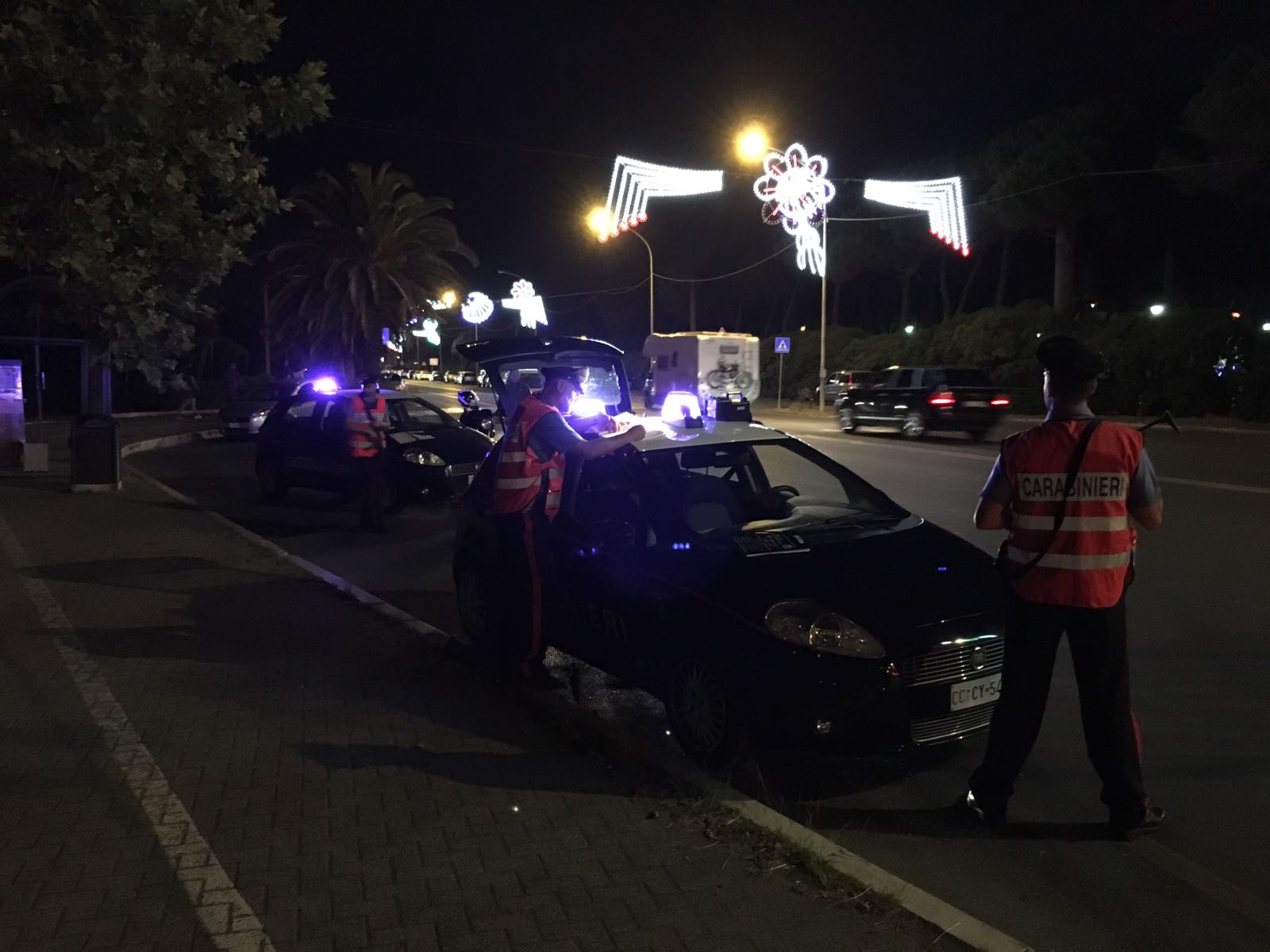 Movida estiva, controlli straordinari dei Carabinieri