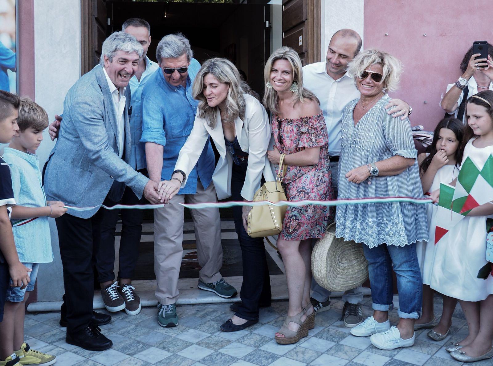 """Inaugurata al Fortino la mostra """"Pablito Great Italians Emotion"""""""