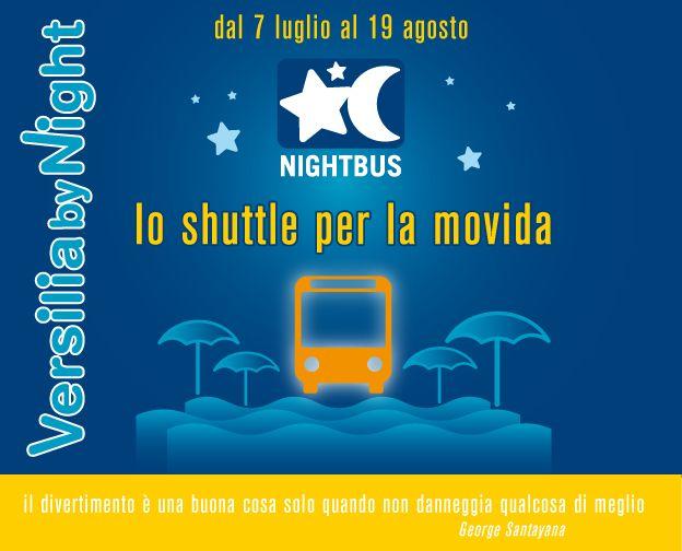 Versilia by night, torna il bus della movida
