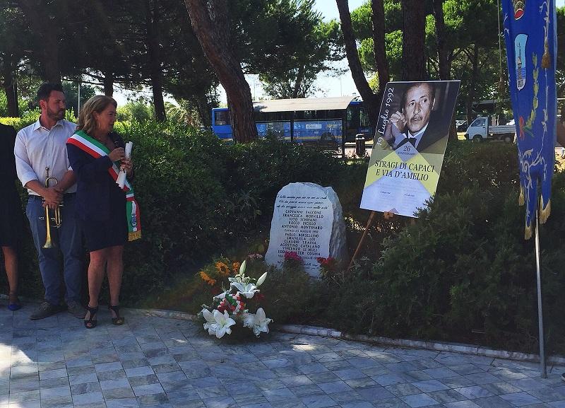 Celebrato il 26esimo anniversario della strage di via D'Amelio