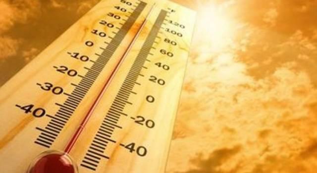 Caldo africano fino al 3 luglio
