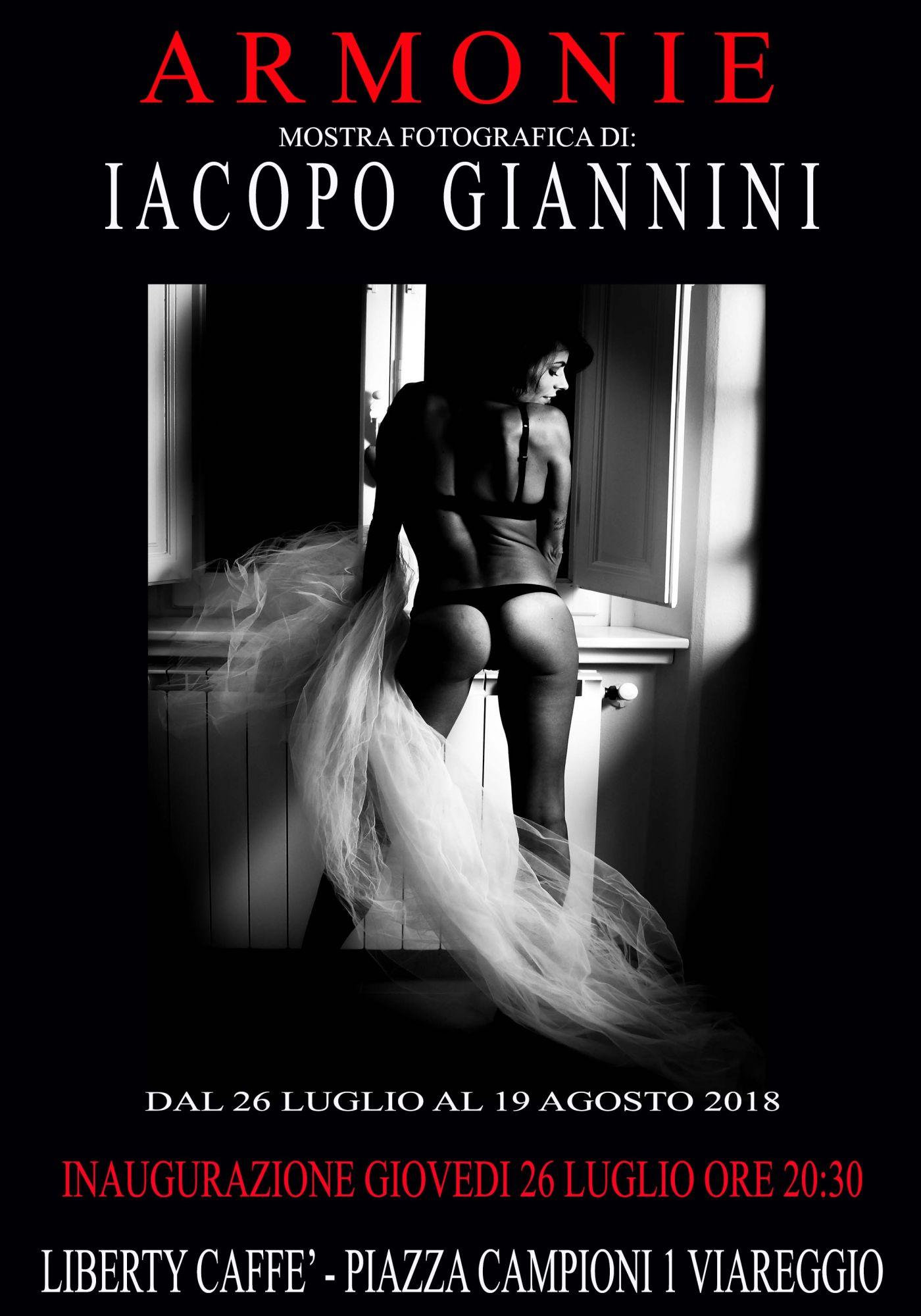 Armonie, al Liberty la nuova mostra di foto di Iacopo Giannini
